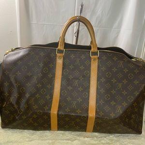 Authentic Louis Vuitton Monogram Keepall 55